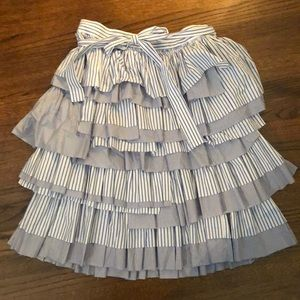 J. Crew Collection Tiered Skirt